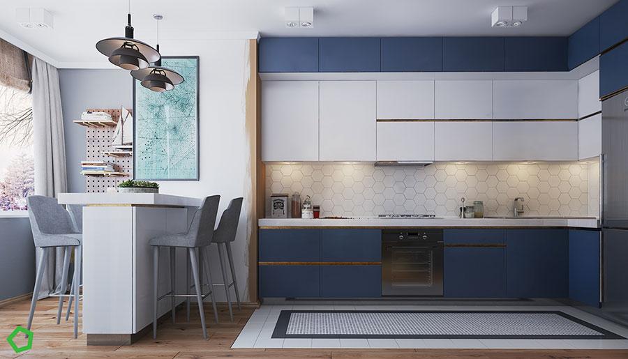 Progetto per una casa di 130 mq n.38