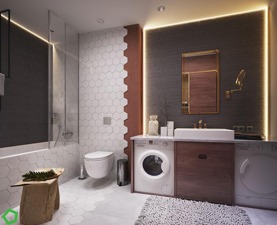 Progetto per una casa di 130 mq n.40