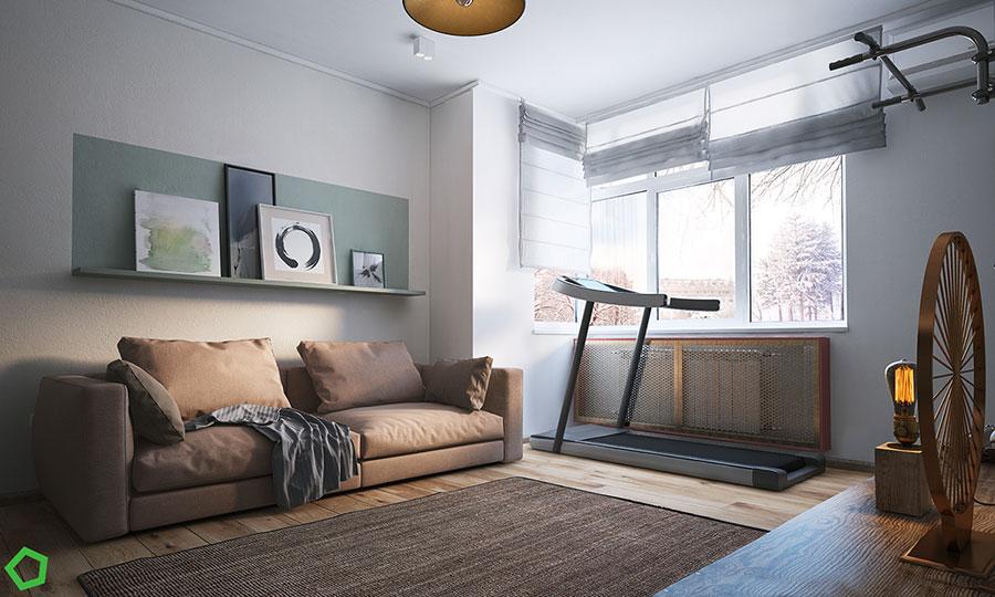 Progetto per una casa di 130 mq n.42