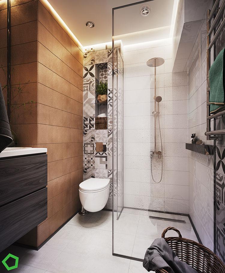 Progetto per una casa di 130 mq n.44