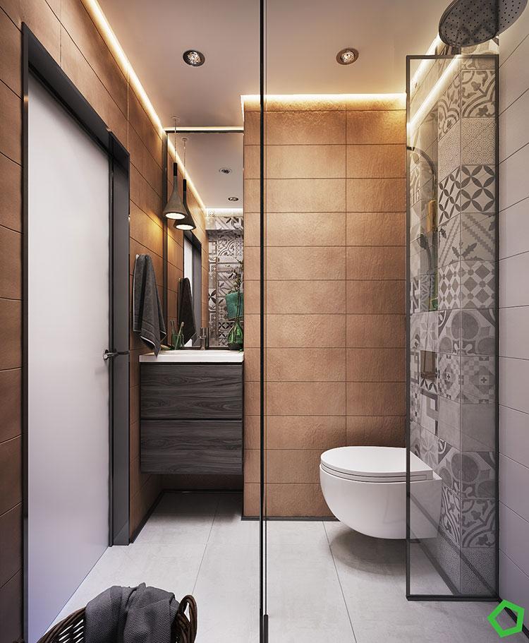Progetto per una casa di 130 mq n.45