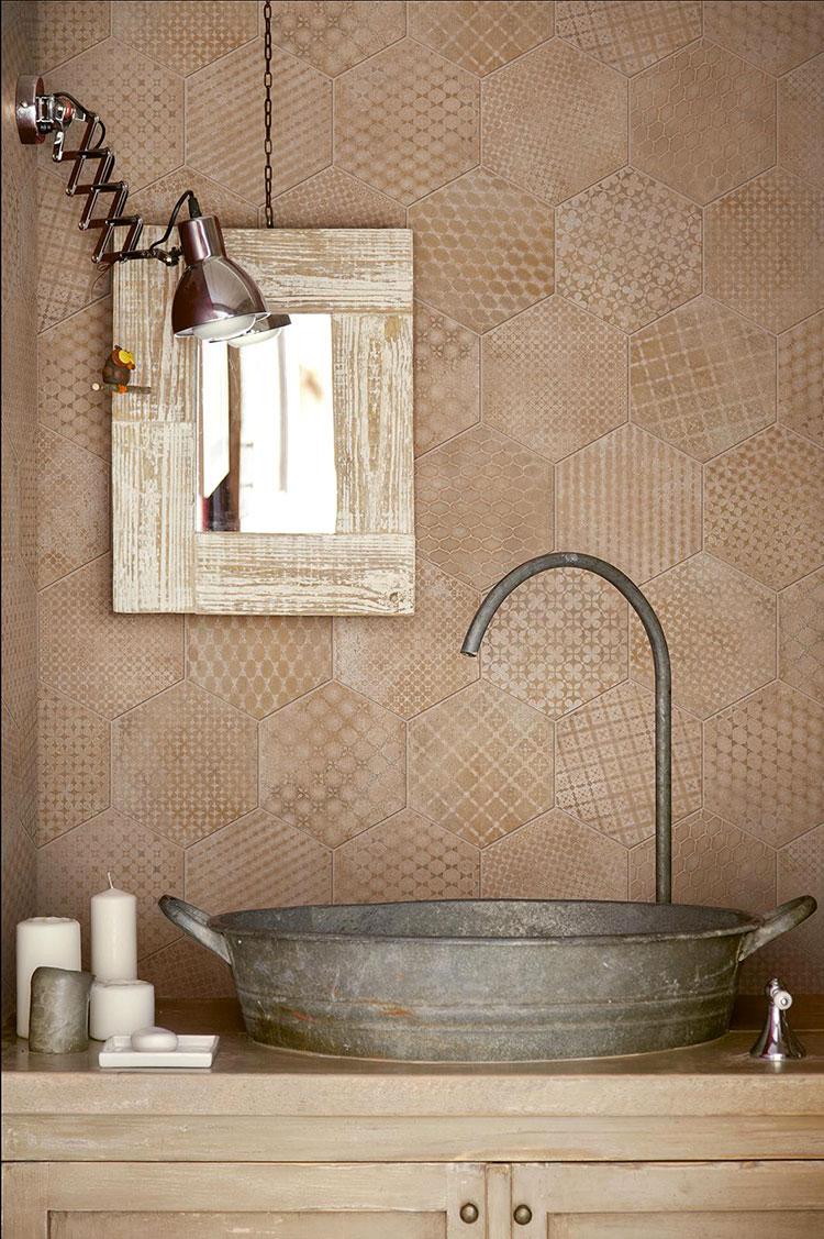 Idee per arredare un bagno vintage n.10