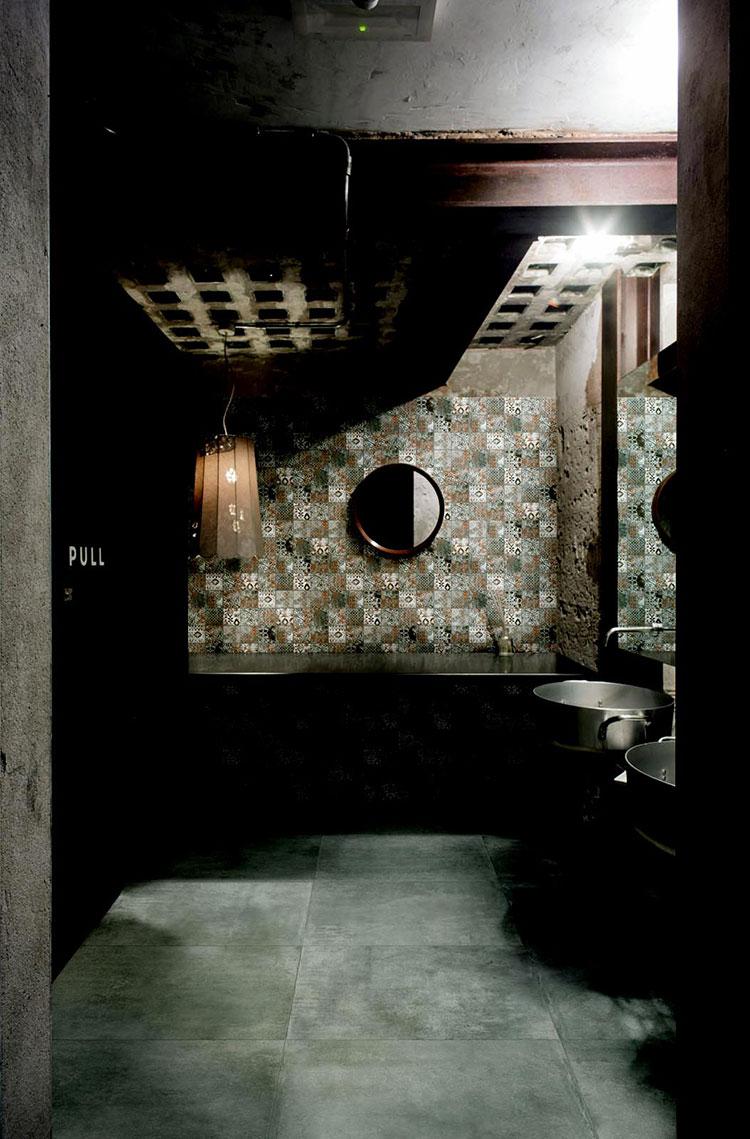 Bagno con cementine di Marazzi n.2