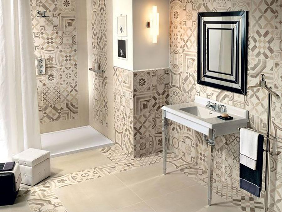 Bagno con cementine 30 idee per rivestimenti di tendenza - Cementine bagno ...