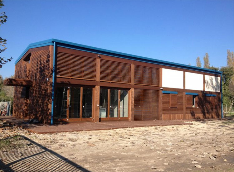 Casa in legno di Rao & Sartelli