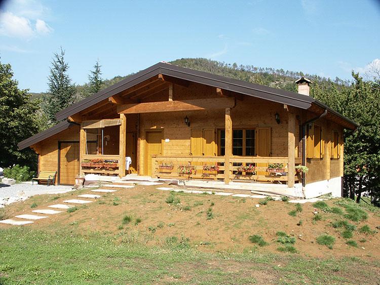 Casa in legno di Tecno Prefabbricati Savona