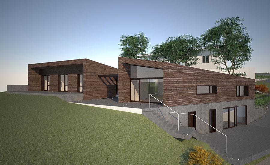 Casa in legno di Albero Maestro