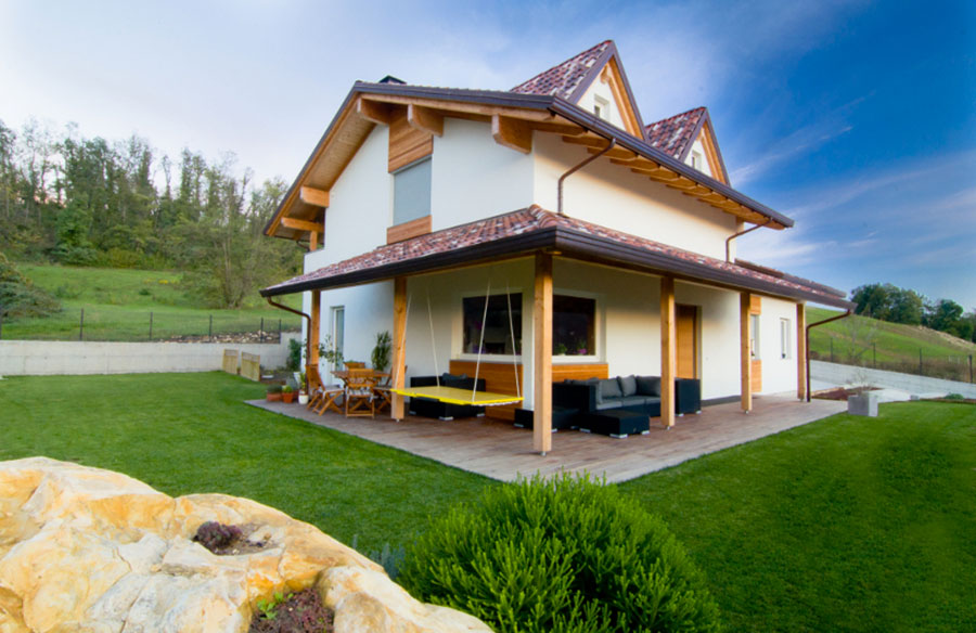 Casa in legno di Proholz Emilia