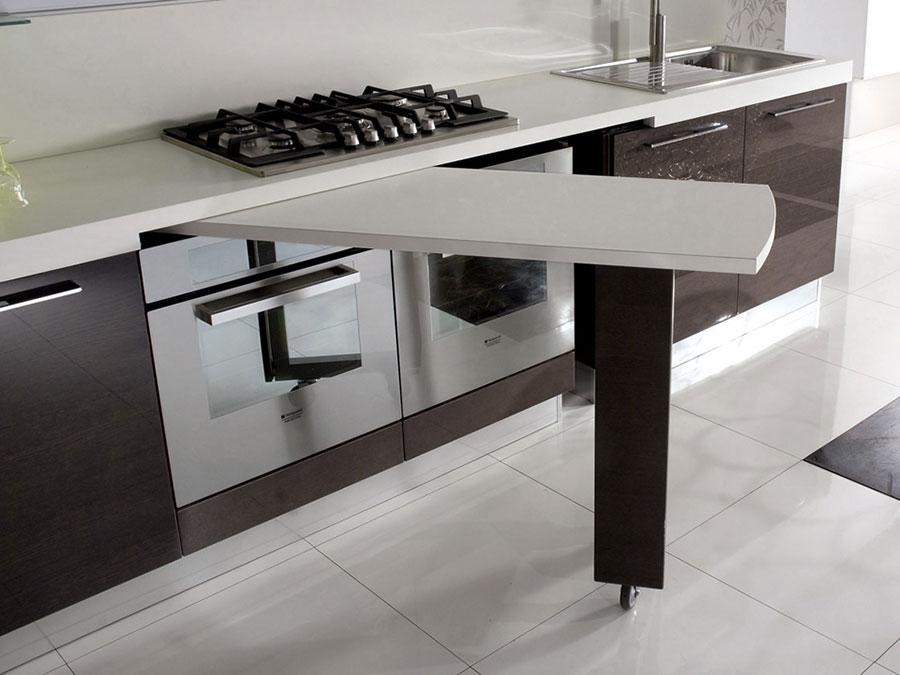 Awesome Cucine Con Tavolo Estraibile Gallery - Amazing House Design ...