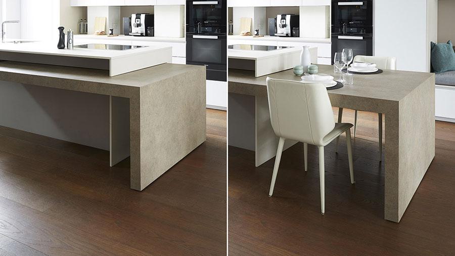20 cucine con tavolo estraibile a scomparsa - Ikea penisola cucina ...