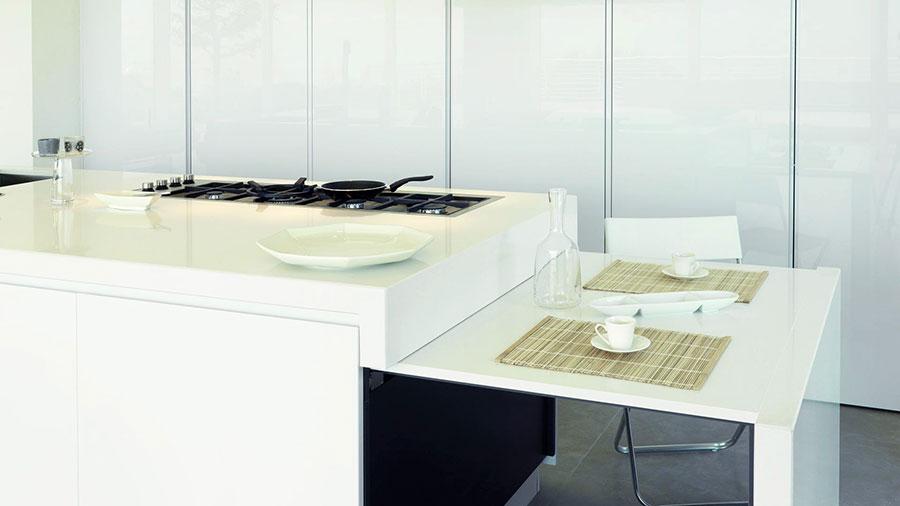 20 cucine con tavolo estraibile a scomparsa for Costo isola cucina