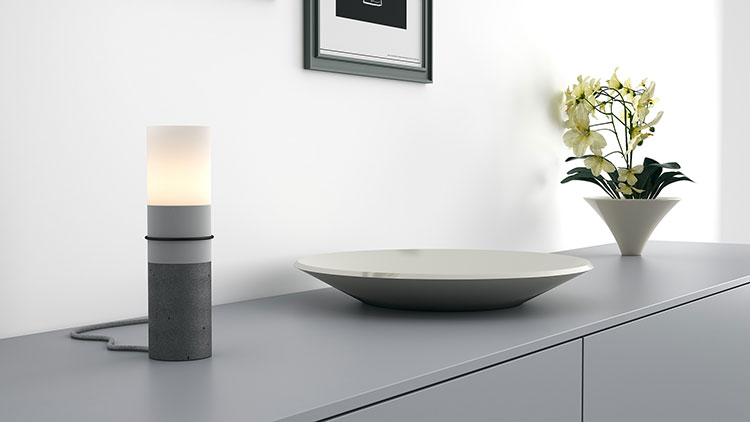 Modello di lampada da tavolo dal design particolare n.11
