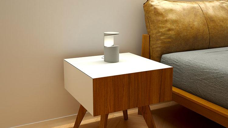 Modello di lampada da tavolo dal design particolare n.13