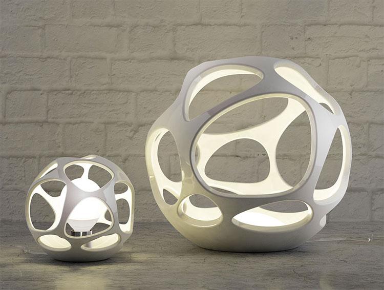 Modello di lampada da tavolo dal design particolare n.15