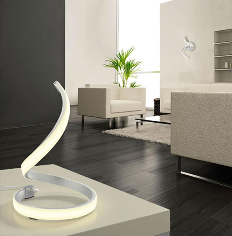 Modello di lampada da tavolo dal design particolare n.19