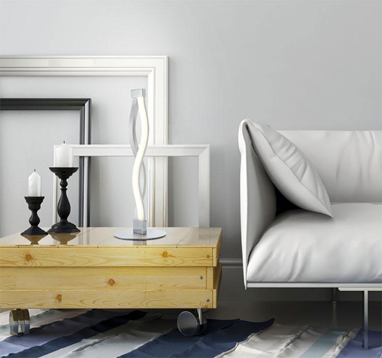 Modello di lampada da tavolo dal design particolare n.20
