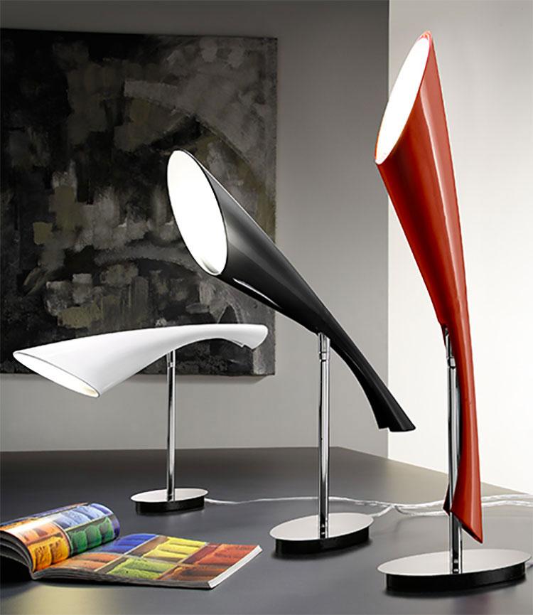 Modello di lampada da tavolo dal design particolare n.22