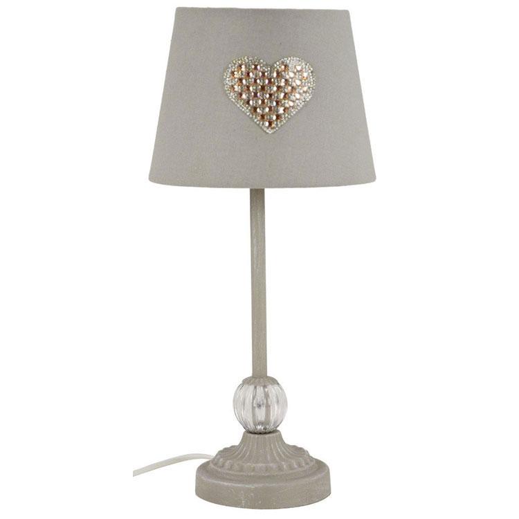 Modello di lampada da tavolo shabby chic n.10