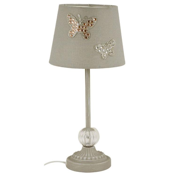 Modello di lampada da tavolo shabby chic n.11