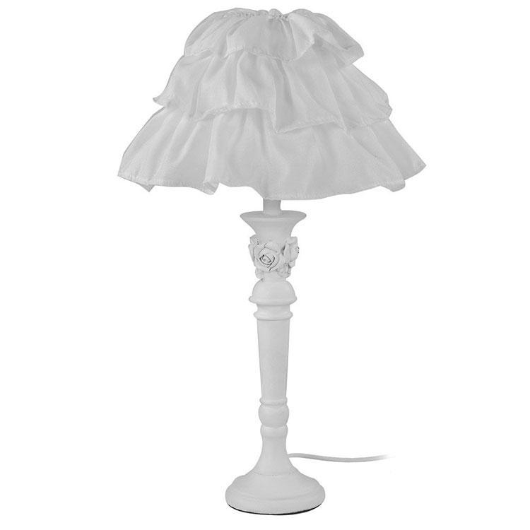 Modello di lampada da tavolo shabby chic n.13