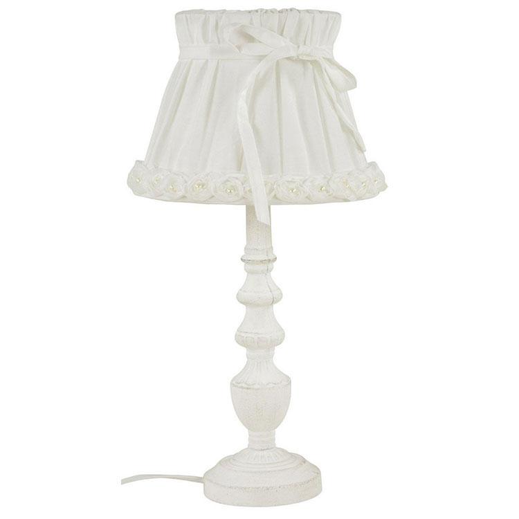 Modello di lampada da tavolo shabby chic n.15