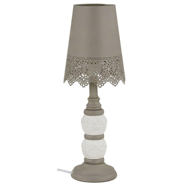 Modello di lampada da tavolo shabby chic n.17