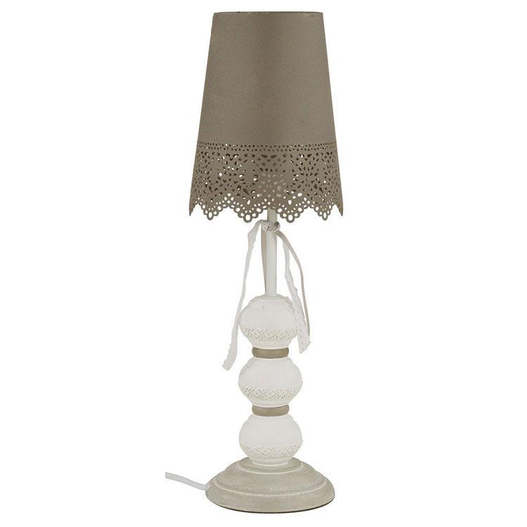 Modello di lampada da tavolo shabby chic n.18