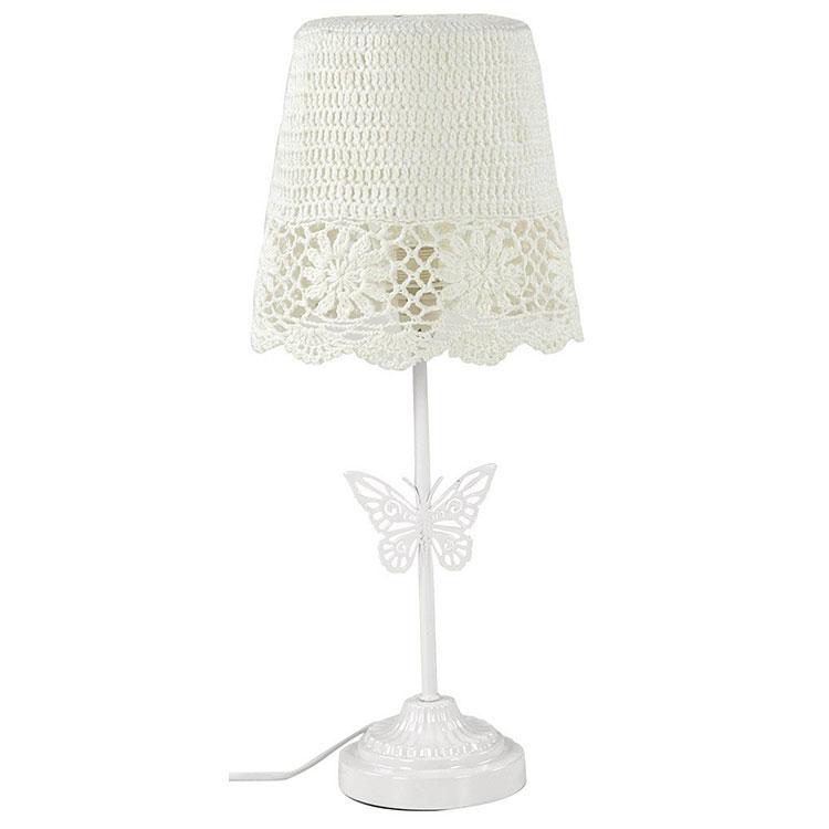 Modello di lampada da tavolo shabby chic n.19