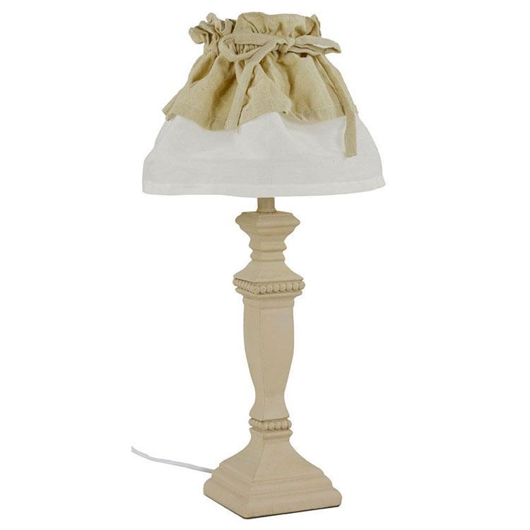 Modello di lampada da tavolo shabby chic n.20