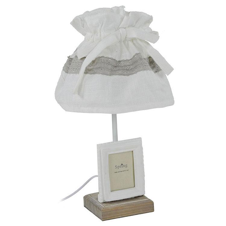 Modello di lampada da tavolo shabby chic n.21
