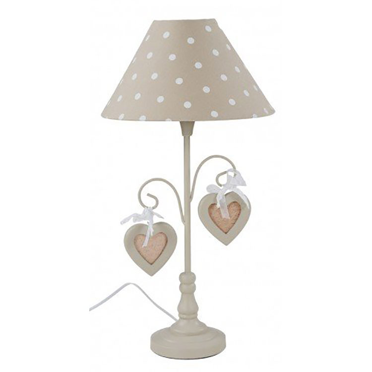 Modello di lampada da tavolo shabby chic n.22