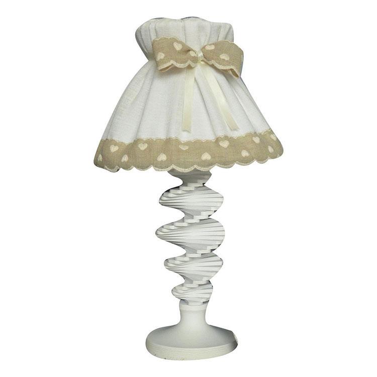 Modello di lampada da tavolo shabby chic n.25