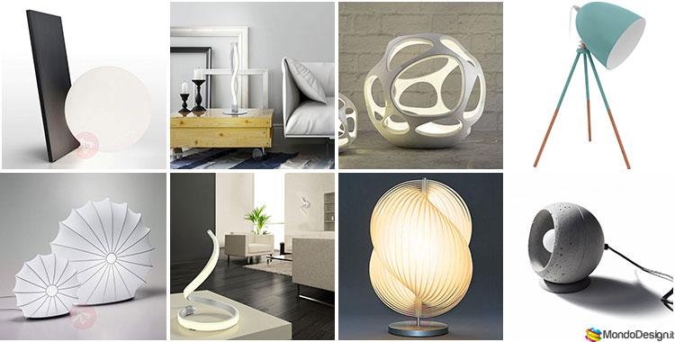 Lampade da tavolo di design 30 modelli che vi for Imitazioni lampade design