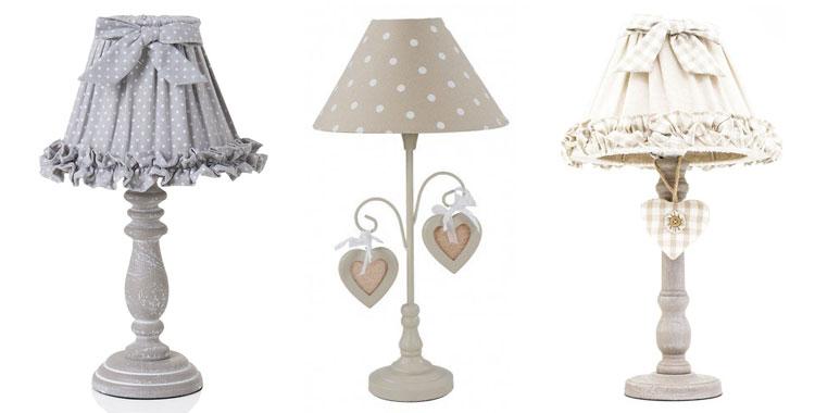 25 fantastiche lampade da tavolo shabby chic - Lampade da tavolo prezzi ...