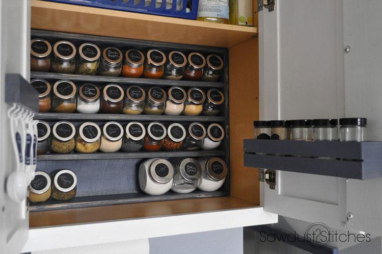 Portaspezie fai da te 20 idee con tutorial per creazioni for Ikea portaspezie