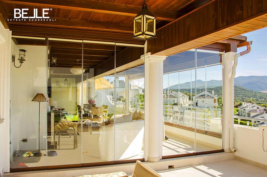 Modello di vetrara scorrevole per esterni n.04