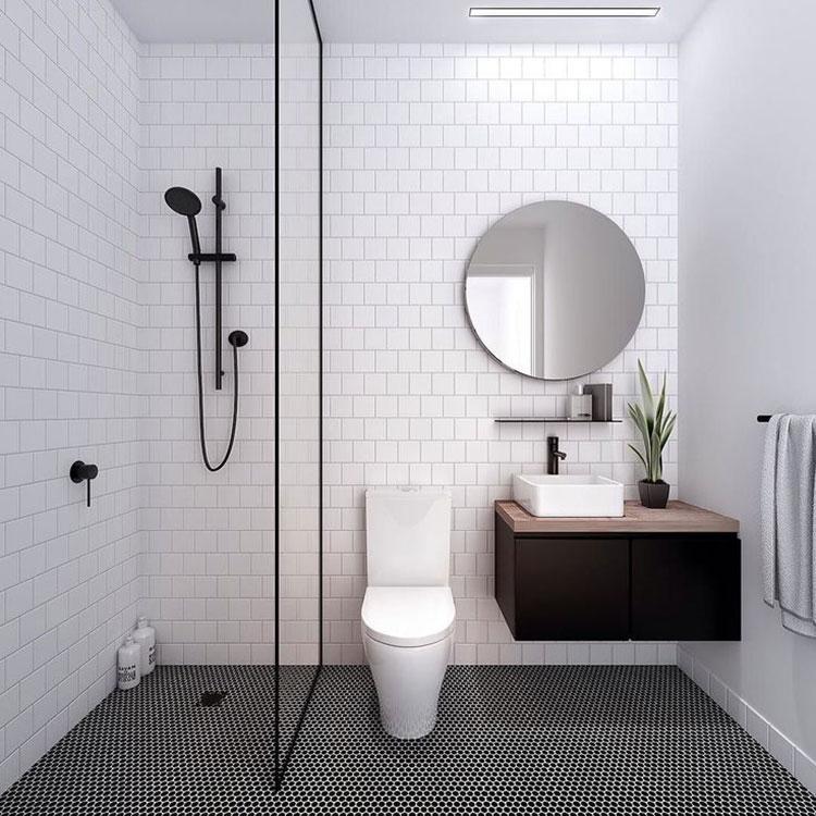 Idee per arredare un bagno piccolo n.01