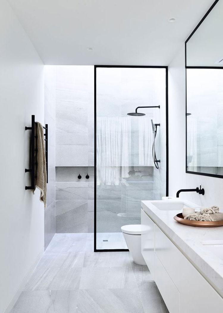 Idee per arredare un bagno piccolo n.03