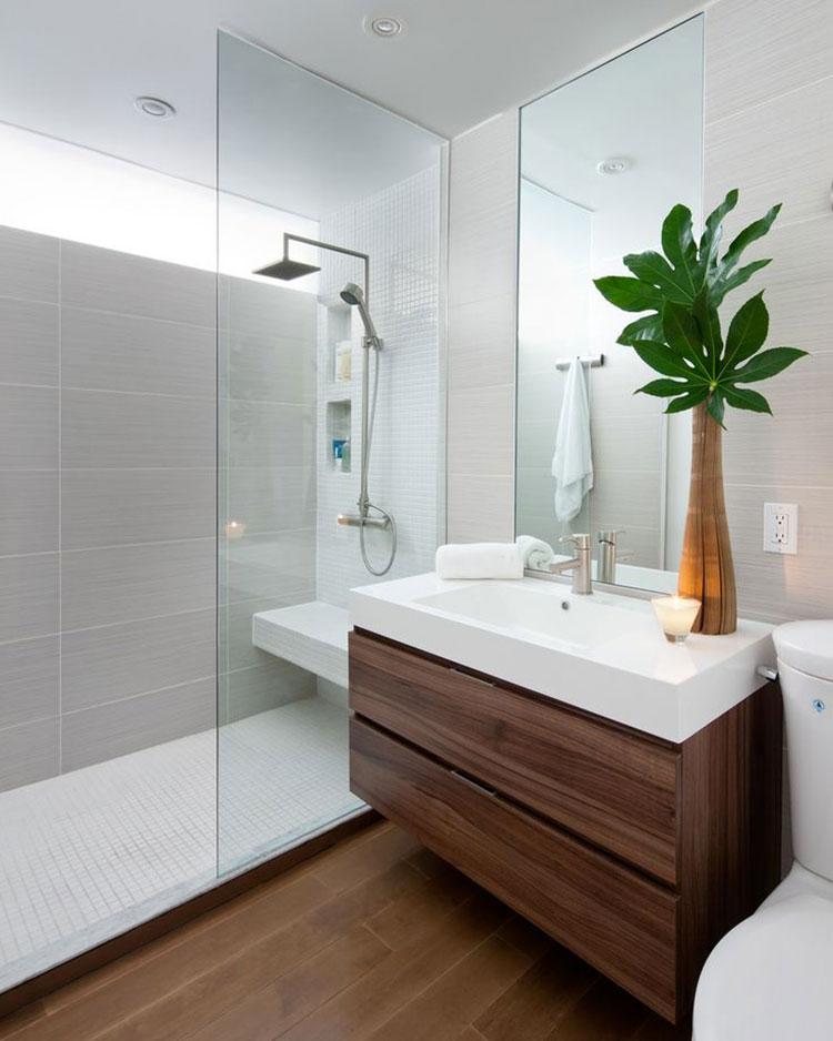 Idee per arredare un bagno piccolo n.05