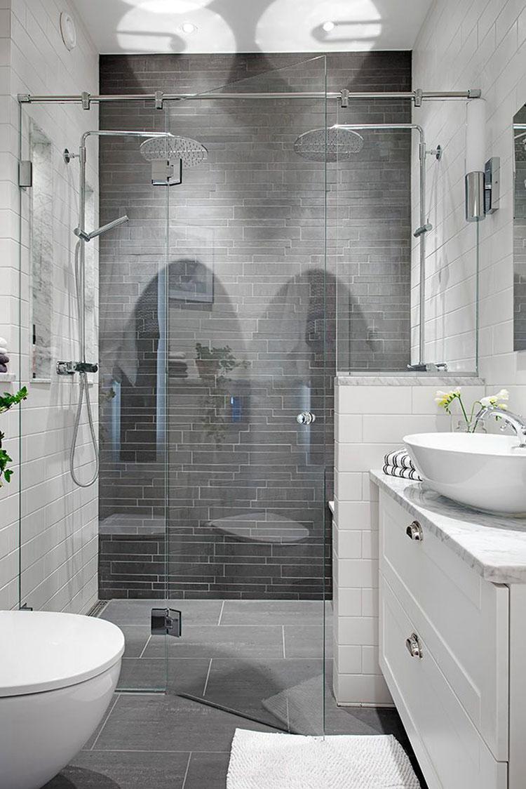 Idee per arredare un bagno piccolo n.10