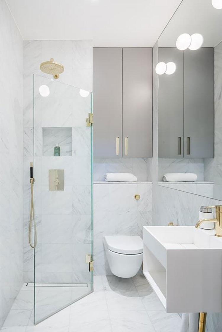 Idee per arredare un bagno piccolo n.16