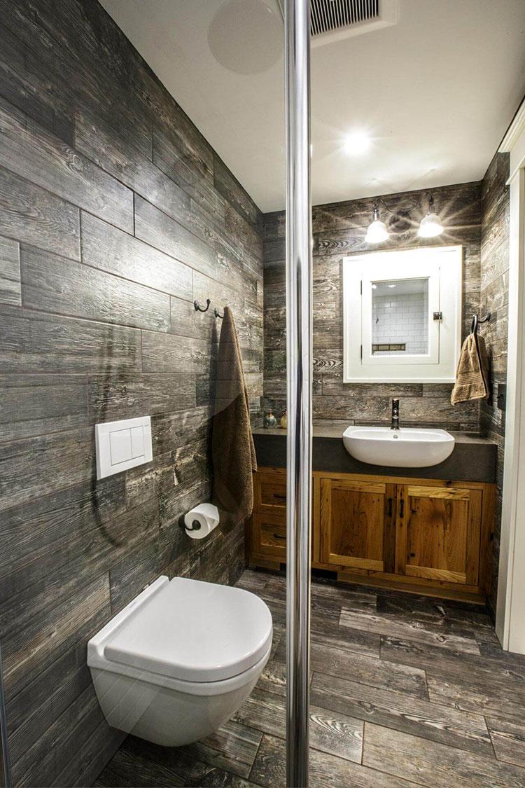 Idee per arredare un bagno piccolo n.17