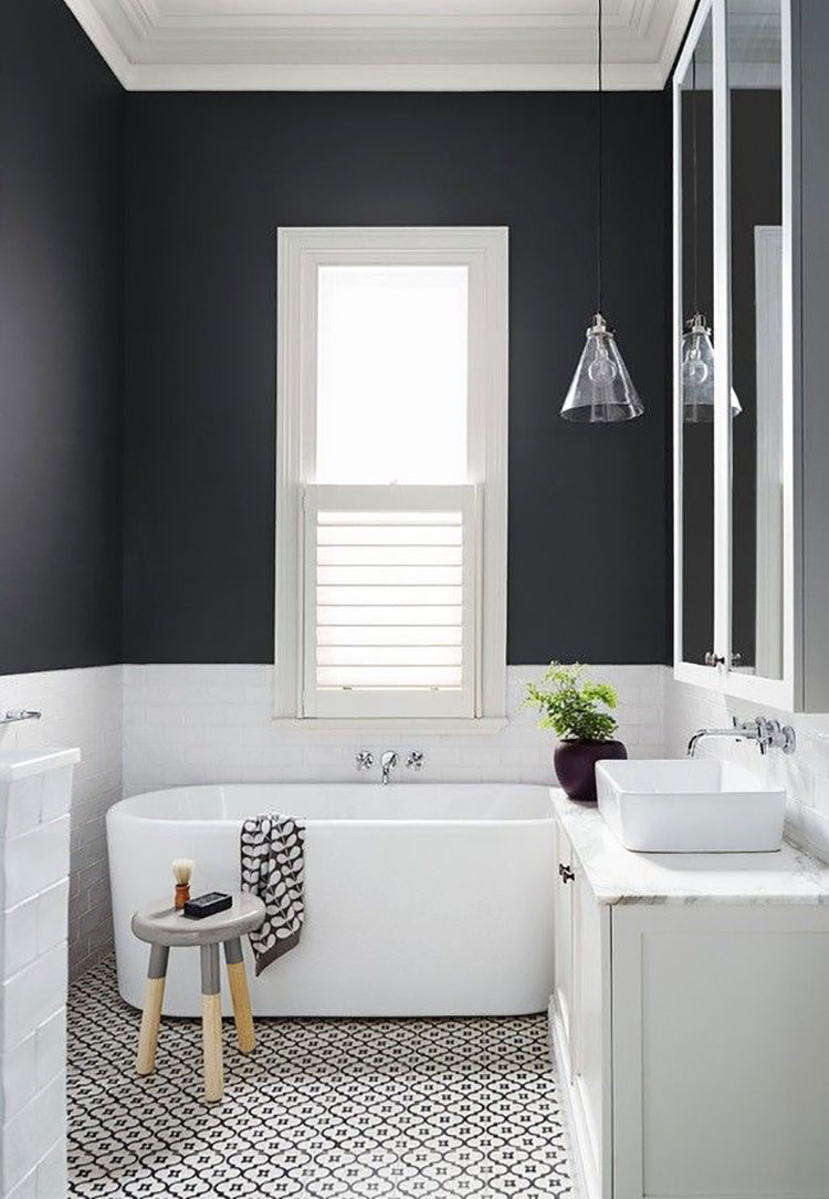 Idee per arredare un bagno piccolo n.18