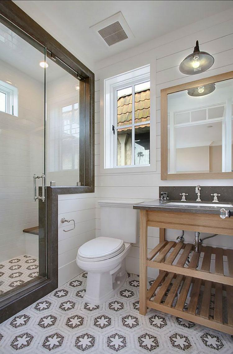Idee per arredare un bagno vintage n.14