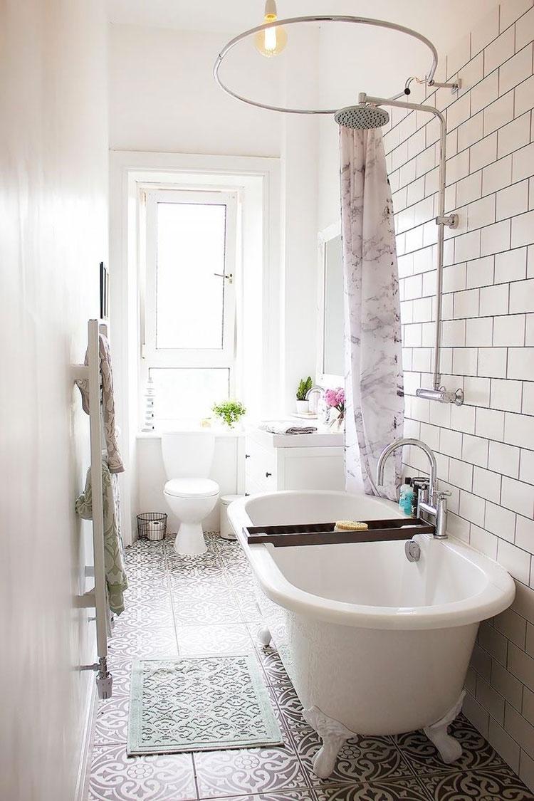 Idee per arredare un bagno vintage n.16