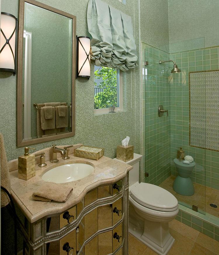 Idee per arredare un bagno piccolo n.23