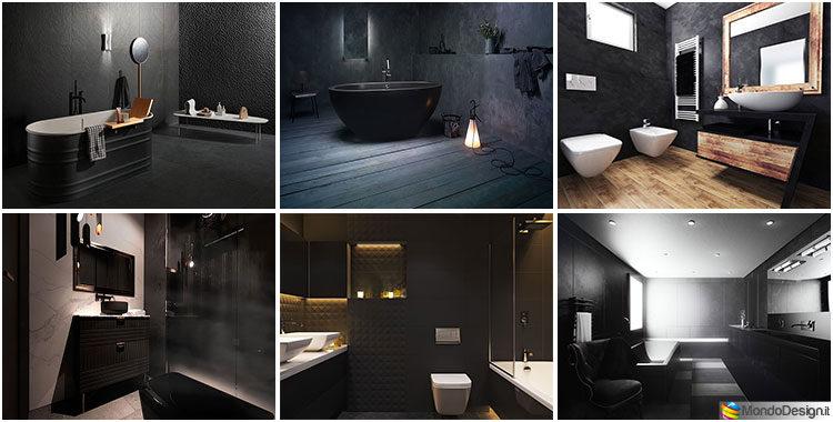 Bagni Neri Moderni: 25 Foto di Progetti di Design | MondoDesign.it