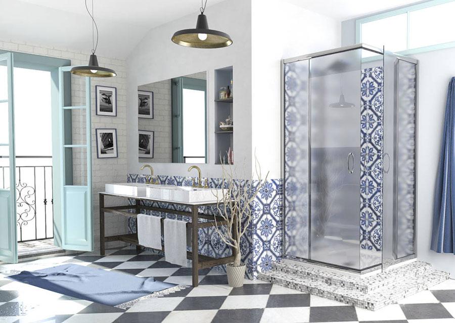 Idee per arredare un bagno vintage n.01