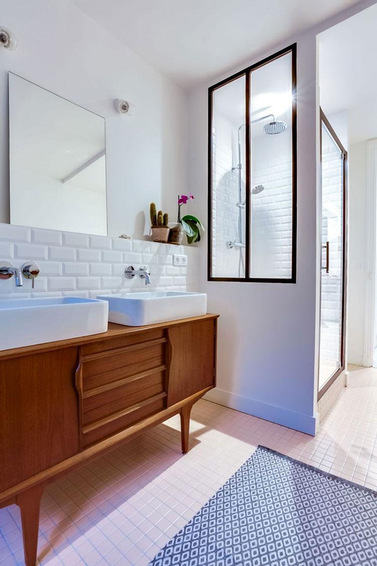 Idee per arredare un bagno vintage n.03