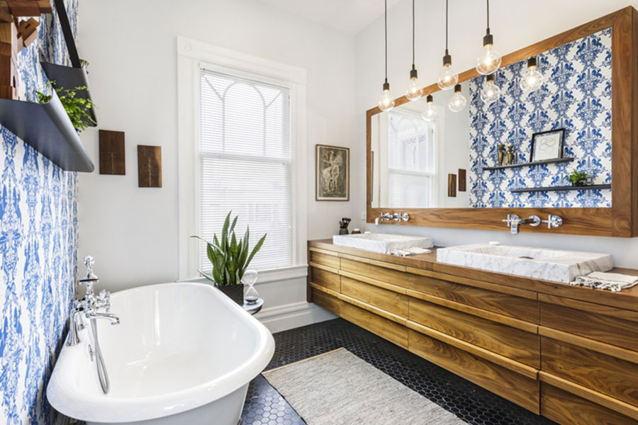 Idee per arredare un bagno vintage n.04